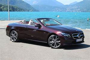 Mercedes Classe E Cabriolet 2017 : essai vid o mercedes classe e cabriolet 2017 la dolce vita germanique ~ Medecine-chirurgie-esthetiques.com Avis de Voitures