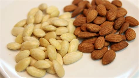how to blanch how to blanch almonds youtube