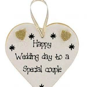 wedding day happy wedding day plaques click for choice of messages heartstrings