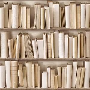 Papier Peint Trompe L4oeil : papierpeint9 papier peint bibliotheque ~ Premium-room.com Idées de Décoration