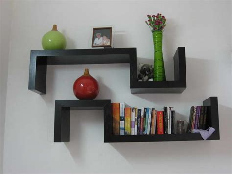 Modern Bed Frames And Wall Shelves