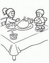 Coloring Thanksgiving Feast Gracias Accion Disney Wendy Pan Peter Clipart Printables sketch template