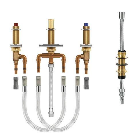 moen 2 handle kitchen faucet repair moen 2 handle 4 tub adjustable in valve
