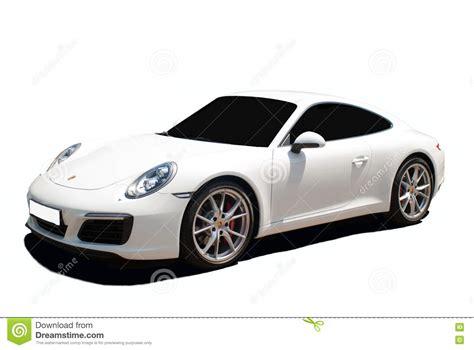 porsche white car white porsche carrera 911 a transparent background