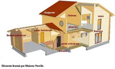table de montage ossature bois maison ossature bois le descriptif serv eure construction bois