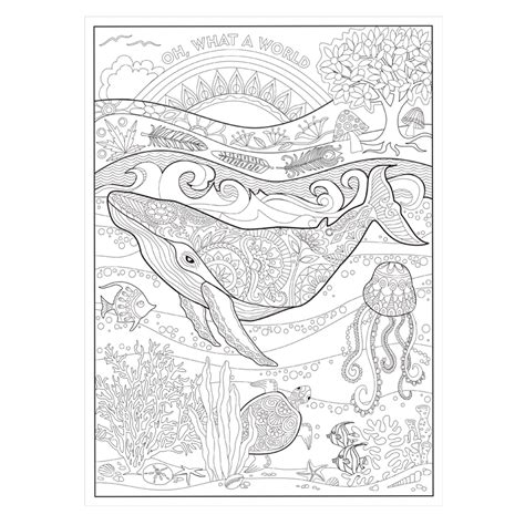 Coloring Book by Oh What A Colorful World Coloring Book Pre Order