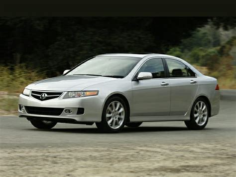 2007 acura tsx information