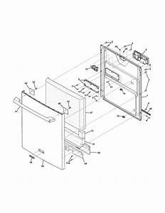 Electrolux Model Eidw6105gs1 Dishwasher Genuine Parts