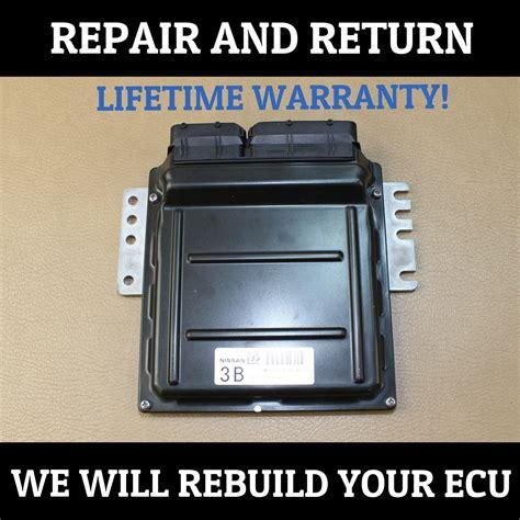 repair service 05 06 nissan altima 2 5l 3 5l ecu engine module computer does not apply