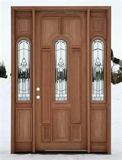 exterior front doors exterior doors prehung with sidelights