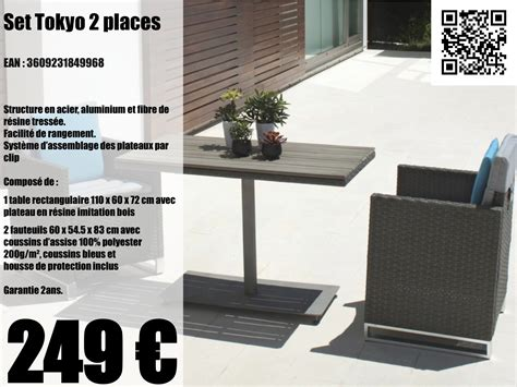 canapé de balcon étourdissant salon de jardin pour balcon avec mobilier de