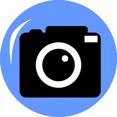 Camera Clip Clipart Clker Svg