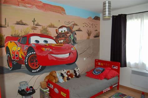 decoration chambre cars chambre deco cars