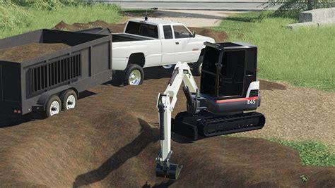 ls exp dumptrailer  kst mini   farming simulator  mod ls mod