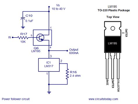 few lm317 voltage regulator circuits that has a lot of applications