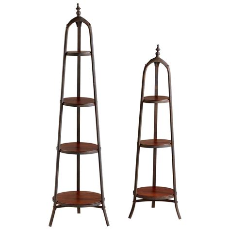 Define Etagere by Wooden Shelves Iron Etagere Set Metal