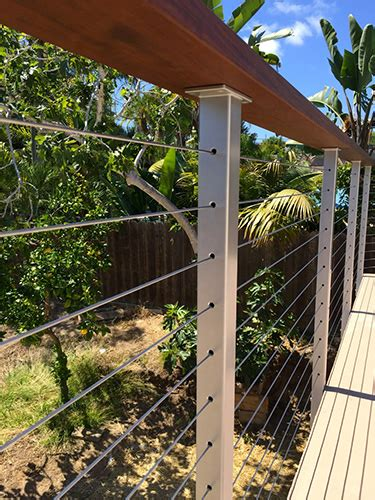 cable railings cost cable railing systems cost san diego cable railings