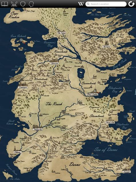 game  thrones detailed map bing images game