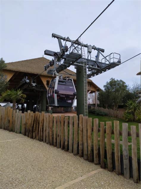 Classé parmi les 5 plus beaux zoos du monde. Télécabine débrayable (TCD8) Nuage de Beauval - Zoo de Beauval