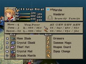 GameLib Matria Final Fantasy Tactics The War Of The
