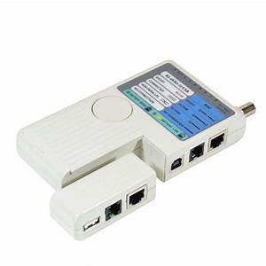 4 In 1 Network Cable Tester Rj45  Rj11  Usb  Bnc Lan Cable