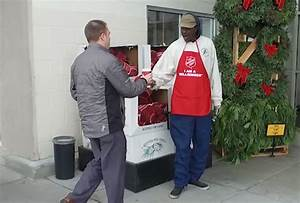 FEEL GOOD FRIDAY: We surprise Red Kettle bell ringers with ...