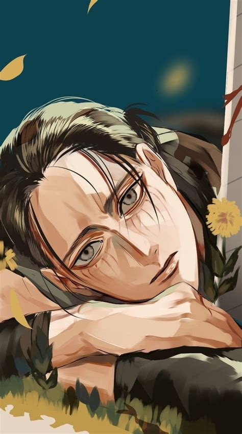 Eren yeager hairstyle tutorial (from attack on titan)#attack on titan, #men's hairstyle. Eren Jaeger With Long Hair - Wallpaper Shingeki No Kyojin ...