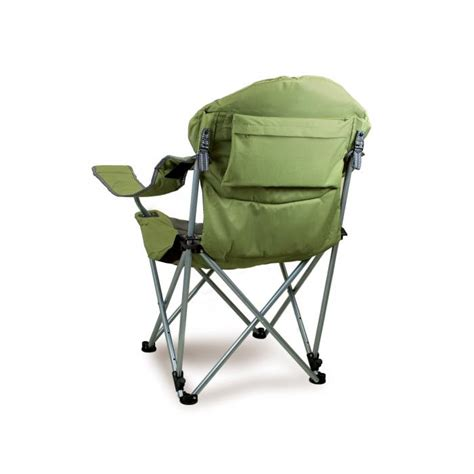 Picnic Time Reclining C Chair With Footrest by Picnic Time Reclining C Chair Green