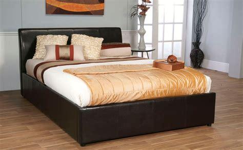 storage tv double bed white dark brown hairs