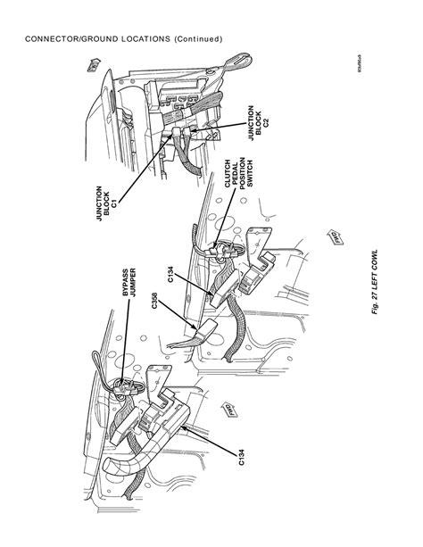 Ground Wiring Diagram 2006 Dodge Ram 2500 Diesel by Repair Guides Connector Ground Locations 2001