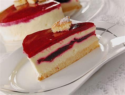 Torte Mit Himbeerfüllung Von