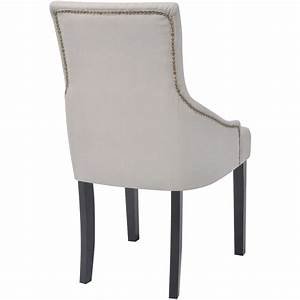 acheter vidaxl chaises pour salle a manger 6 pcs polyester With salle À manger contemporaineavec chaise en solde