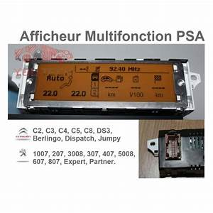 Afficheur Peugeot 407 : afficheur central multifonction peugeot 407 ~ Carolinahurricanesstore.com Idées de Décoration