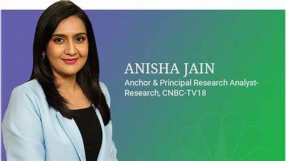 Jain Anchor Anisha Cnbc Tv18 Anchors Tv