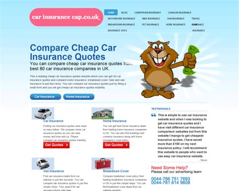 Car Insurance Companies List Uk