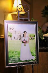 bridal portrait display at wedding reception new image With how to photograph a wedding