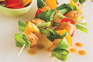 Spicy Thai Chicken Kabobs Easy Grilled Kabobs Recipes