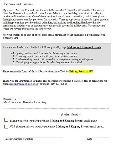 group counseling evaluation form small group counseling documents elementary school