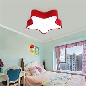 Deckenleuchte Led Kinderzimmer : moderne deckenleuchte led stern design im kinderzimmer ~ Markanthonyermac.com Haus und Dekorationen