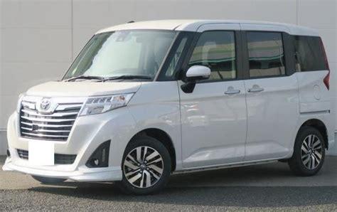 Japanese Used Vanminivan Mini Van Toyota Roomy 2017 2622612