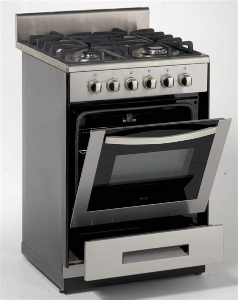 vintage electric stove burners avanti dg2450ss1 24 inch freestanding gas range with 4