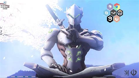 Genji Animated Wallpaper - genji animated interaction wallpaper engine