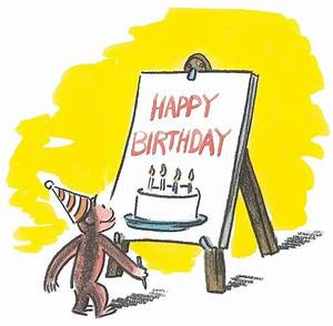 Happy birthday | Curious George | Pinterest
