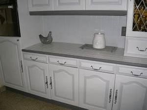 relooker ma cuisine en chene resolu With de couleur peinture 7 peinture meuble cuisine avant chouin peinture