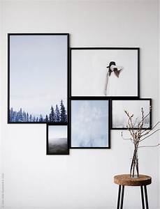 hang art like an ikea stylist poppytalk With ikea wall art