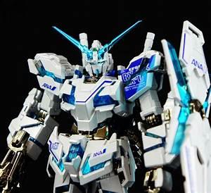 HGUC 1/144 RX-0 Unicorn Gundam Destroy Mode ANA Color Ver ...