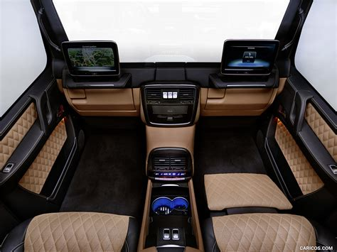 Gallery of 59 high resolution images and press release information. 2018 Mercedes-Maybach G 650 Landaulet - Interior | HD ...