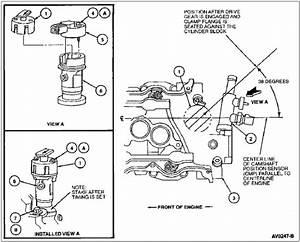 1997 Ford Taurus 3 0l 12v  I U0026 39 M Replacing The Cam Sensor