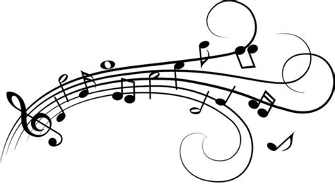 music notes wall decal contemporary wall decals by