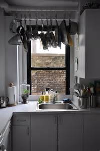 hanging pots in kitchen make the most of your small kitchen hfr living